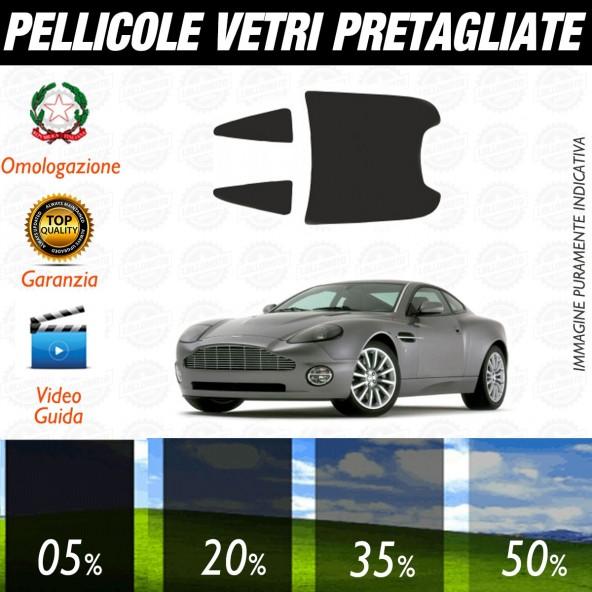 Aston Martin Vanquish dal 2001 al 2004 Pellicole Oscuramento Vetri Auto Pre Tagliate a Misura