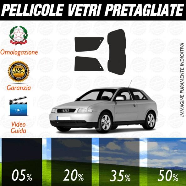 Audi A3 3P dal 2004 al 2011 Pellicole Oscuramento Vetri Auto Pre Tagliate a Misura