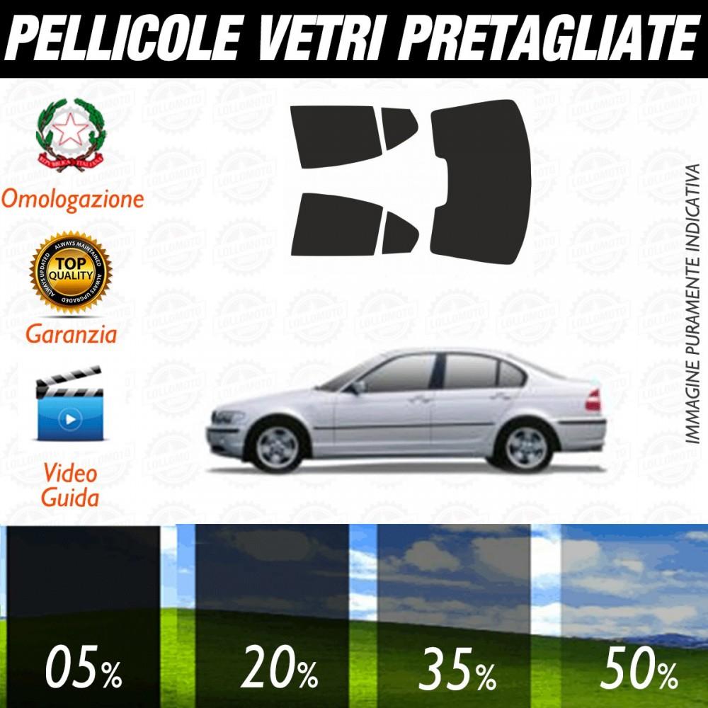 Bmw Serie 3 E46 Coupè dal 1999 al 2006 Pellicole Oscuramento Vetri Auto Pre Tagliate a Misura
