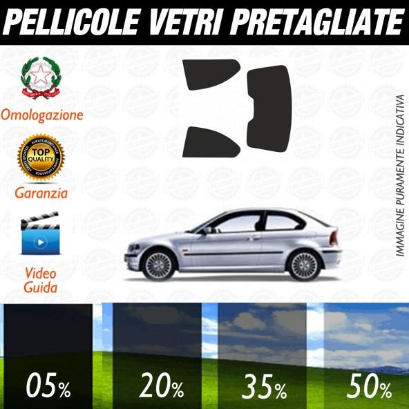 Bmw Serie 3 Touring dal 2000 al 2006 Pellicole Oscuramento Vetri Auto Pre Tagliate a Misura