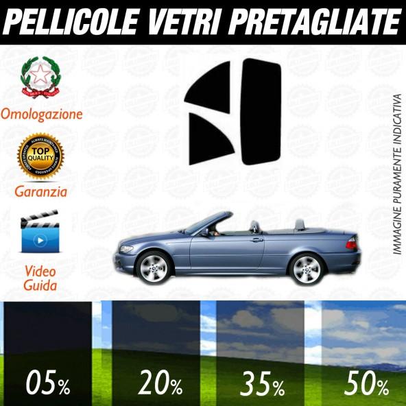 Bmw Serie 3 Compact dal 2001 al 2006 Pellicole Oscuramento Vetri Auto Pre Tagliate a Misura