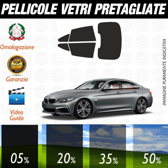Bmw Serie 4 Gran Coupé dal 2015 ad OGGI Pellicole Oscuramento Vetri Auto Pre Tagliate a Misura