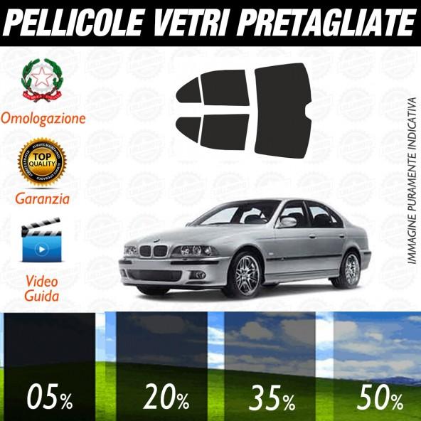 Bmw Serie 5 Berlina dal 2004 al 2010 Pellicole Oscuramento Vetri Posteriori Auto Pre Tagliate a Misura