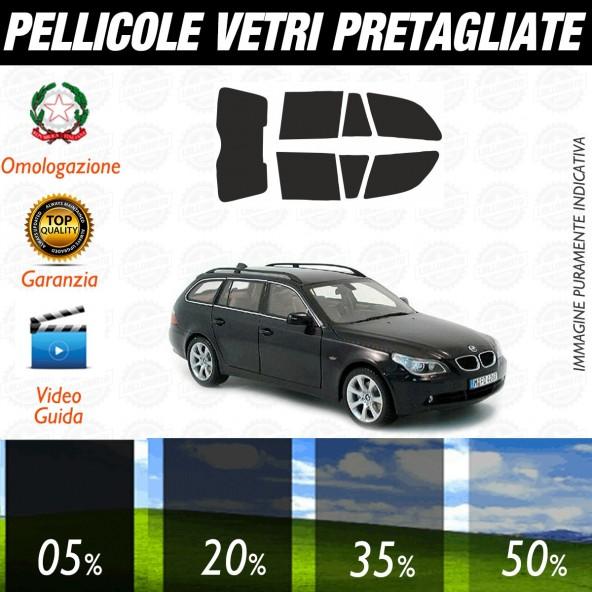 Bmw Serie 5 Berlina dal 2011 ad OGGI Pellicole Oscuramento Vetri Posteriori Auto Pre Tagliate a Misura