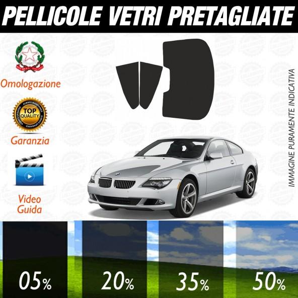Bmw Serie 5 E39 Touring dal 1999 aI 2004 Pellicole Oscuramento Vetri Posteriori Auto Pre Tagliate a Misura