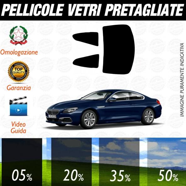 Bmw Serie 6 Coupè dal 2003 aI 2011 Pellicole Oscuramento Vetri Posteriori Auto Pre Tagliate a Misura