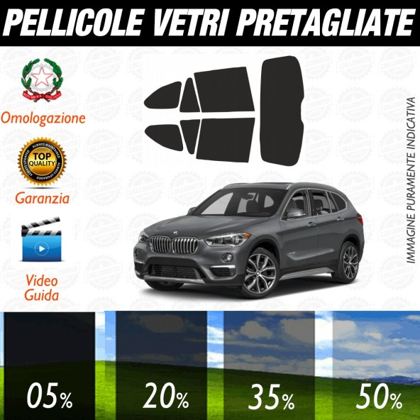 Bmw Serie 6 Cabrio dal 2011 ad OGGI Pellicole Oscuramento Vetri Posteriori Auto Pre Tagliate a Misura