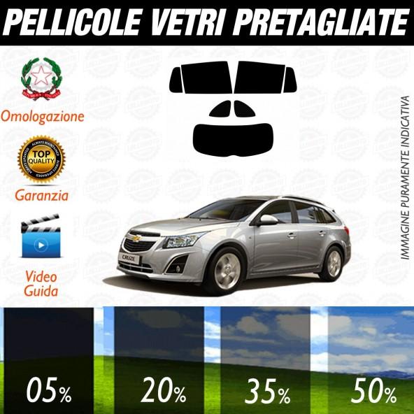 Chevrolet Corvette dal 2011 ad OGGI Pellicole Oscuramento Vetri Posteriori Auto Pre Tagliate a Misura