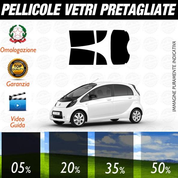 Citroen C Zero 5P dal 2011 ad OGGI Pellicole Oscuramento Vetri Posteriori Auto Pre Tagliate a Misura