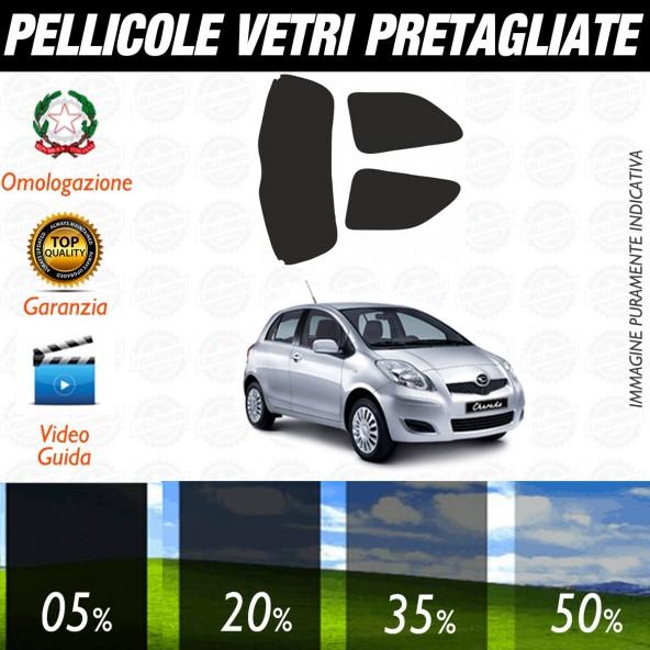 Daihatsu Charad 3P dal 2011 ad OGGI Pellicole Oscuramento Vetri Posteriori Auto Pre Tagliate a Misura