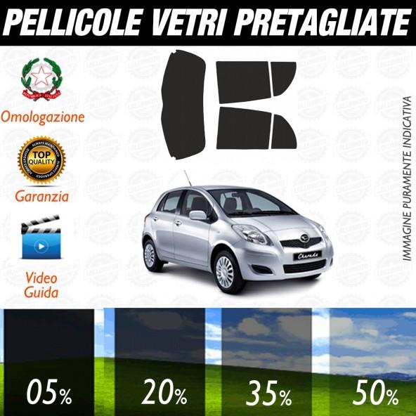 Daihatsu Charad 5P dal 2011 ad OGGI Pellicole Oscuramento Vetri Posteriori Auto Pre Tagliate a Misura