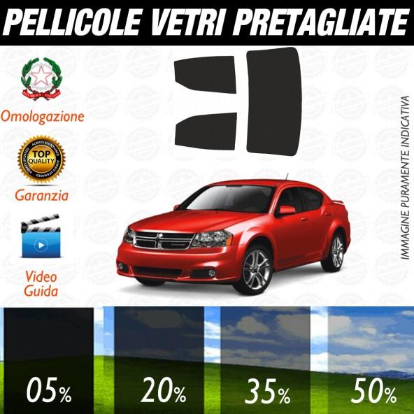 Dodge Avenger dal 2008 ad OGGI Pellicole Oscuramento Vetri Posteriori Auto Pre Tagliate a Misura