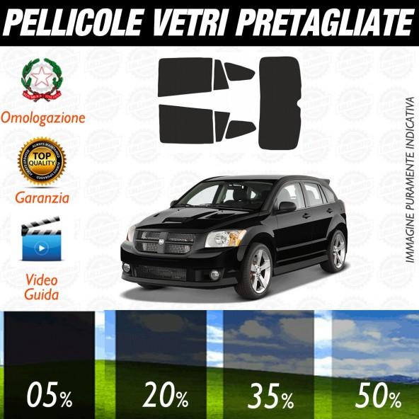 Dodge Caliber dal 2006 ad OGGI Pellicole Oscuramento Vetri Posteriori Auto Pre Tagliate a Misura