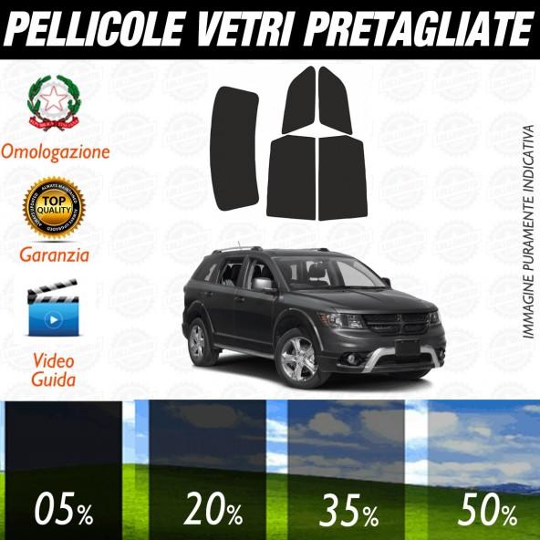 Dodge Journey dal 2009 ad OGGI Pellicole Oscuramento Vetri Posteriori Auto Pre Tagliate a Misura