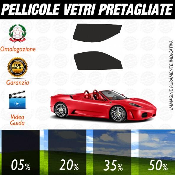Ferrari F430 Spider dal 2007 ad OGGI Pellicole Oscuramento Vetri Anteriori Auto Pre Tagliate a Misura