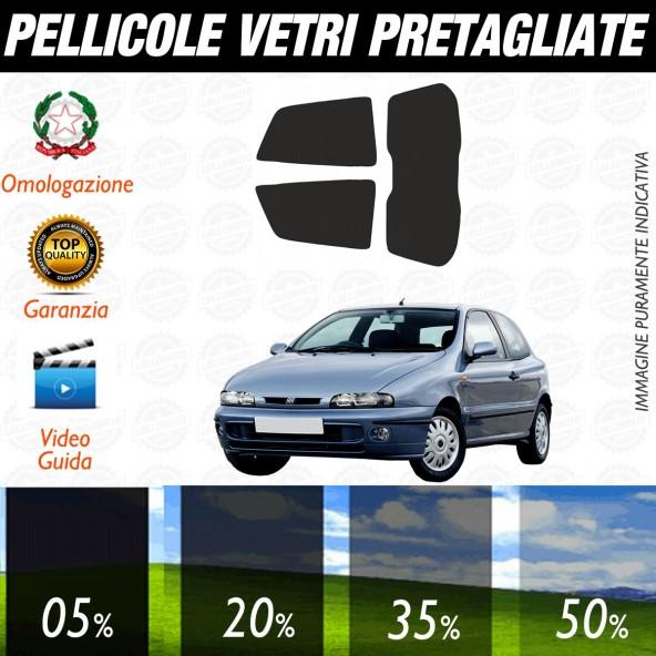 Fiat Bravo 3P dal 1996 al 2001 Pellicole Oscuramento Vetri Posteriori Auto Pre Tagliate a Misura