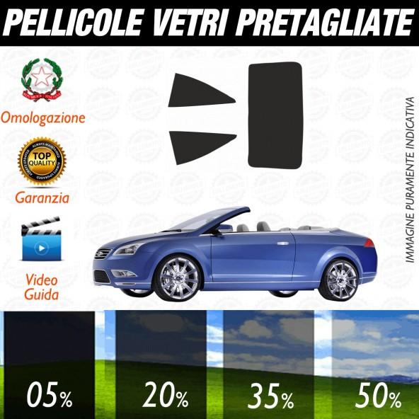 Ford Focus Cabrio dal 2007 al 2010 Pellicole Oscuramento Vetri Posteriori Auto Pre Tagliate a Misura