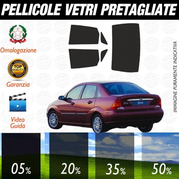 05/% Kit Ford Focus Sw dal 1999 al 2004 Pellicole Oscuramento Vetri Auto Pre Tagliate a Misura