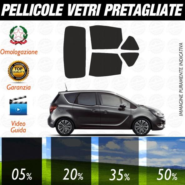 Opel Meriva 03-09 Pellicole Oscuramento Vetri Auto Pre Tagliate a Misura