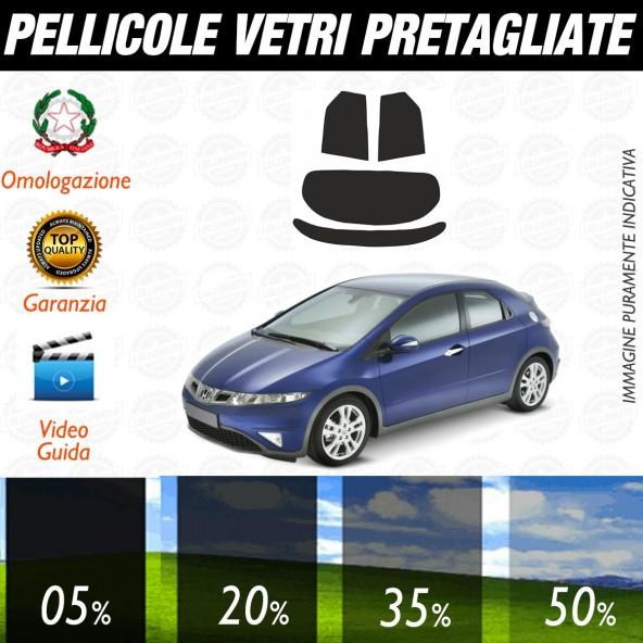 Honda Civic 5P dal 2006 al 2011 Pellicole Oscuramento Vetri Posteriori Auto Pre Tagliate a Misura