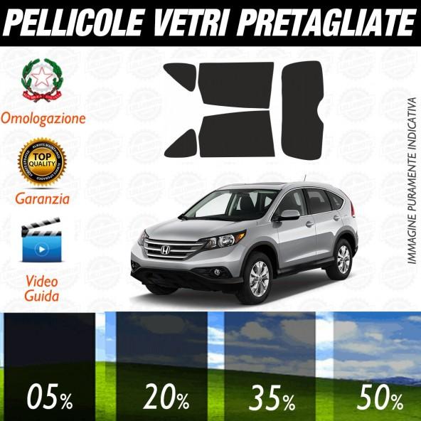Honda Cr-v dal 2012 al 2014 Pellicole Oscuramento Vetri Posteriori Auto Pre Tagliate a Misura