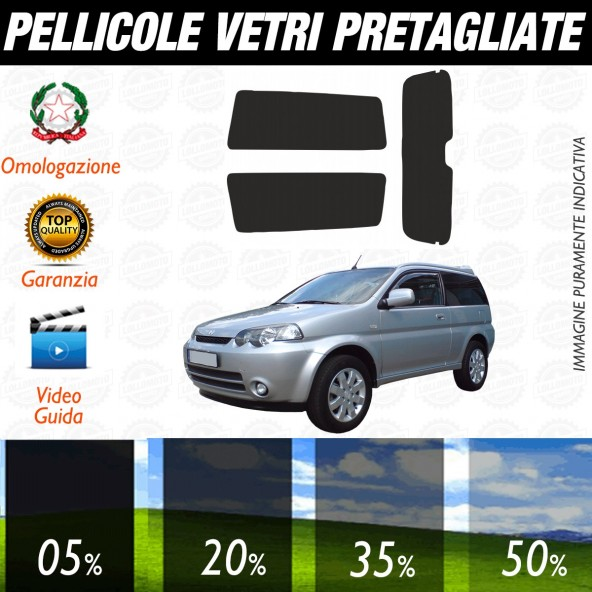 Honda Hr-v dal 2007 al 2011 Pellicole Oscuramento Vetri Posteriori Auto Pre Tagliate a Misura