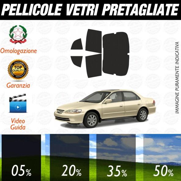 Honda Accord 5P dal 2000 al 2003 Pellicole Oscuramento Vetri Posteriori Auto Pre Tagliate a Misura