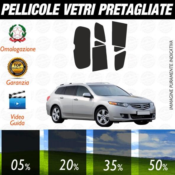 Honda Accord Sw dal 2008 al 2010 Pellicole Oscuramento Vetri Posteriori Auto Pre Tagliate a Misura