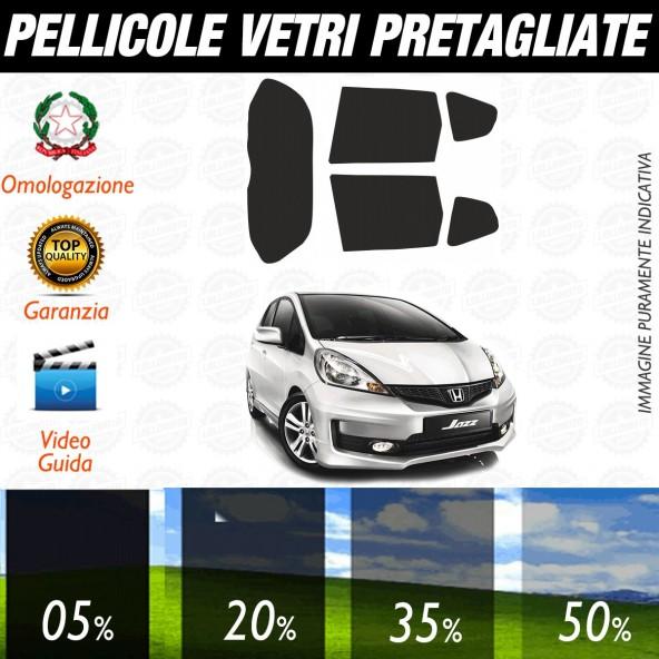 Honda Jazz dal 2009 al 2015 Pellicole Oscuramento Vetri Posteriori Auto Pre Tagliate a Misura