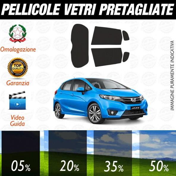 Honda Jazz dal 2016 ad OGGI Pellicole Oscuramento Vetri Posteriori Auto Pre Tagliate a Misura