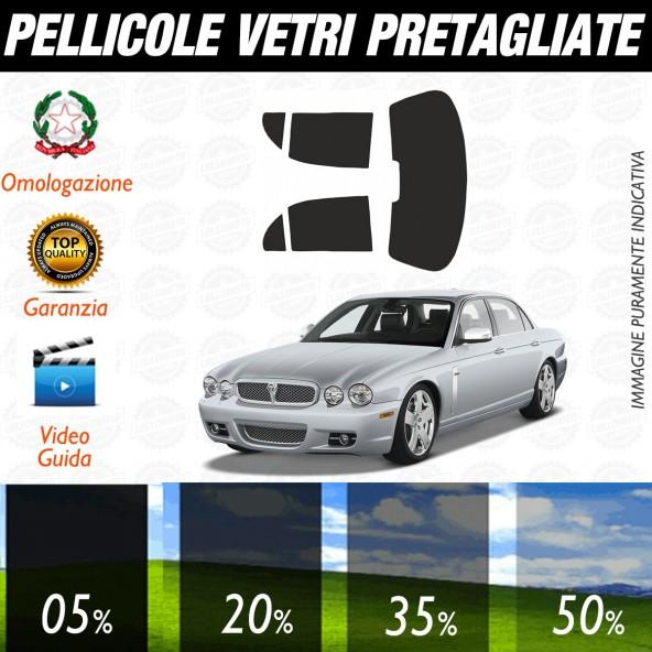 Jaguar Xj Berlina dal 2003 al 2010 Pellicole Oscuramento Vetri Posteriori Auto Pre Tagliate a Misura