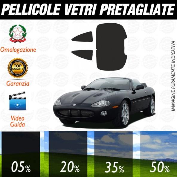 Jaguar Xk 100 Coupè dal 2002 al 2006 Pellicole Oscuramento Vetri Posteriori Auto Pre Tagliate a Misura