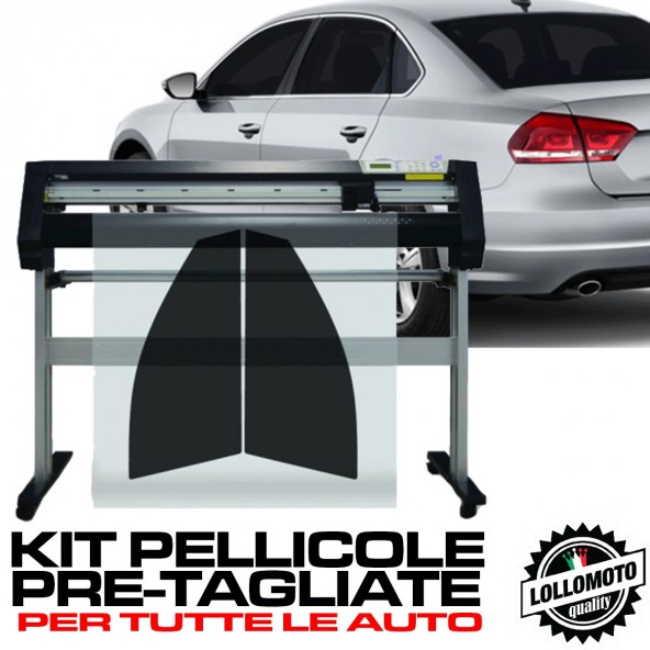 Kit Pellicole ANTERIORI Oscuramento Vetri Intagliate A Misura Auto Pre Tagliate a Misura Windows Tint