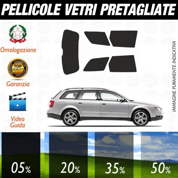Audi A4 Avant dal 2001 al 2005 Pellicole Oscuramento Vetri Auto Pre Tagliate a Misura
