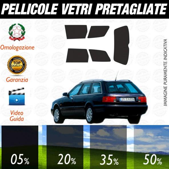 Audi A6 Avant dal 1991 al 1998 Pellicole Oscuramento Vetri Auto Pre Tagliate a Misura
