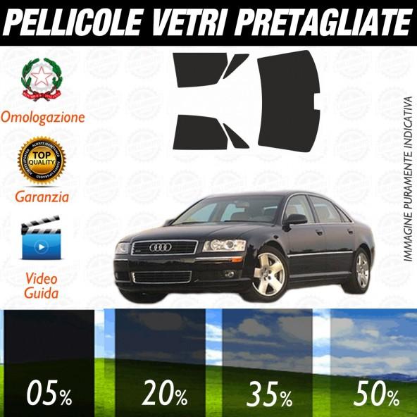 Audi A8 dal 1994 al 2005 Pellicole Oscuramento Vetri Auto Pre Tagliate a Misura