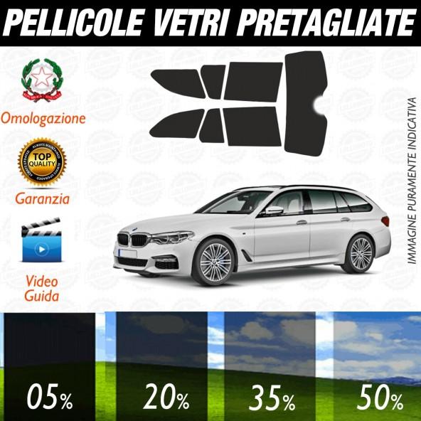 Bmw Serie 5 Touring dal 2017 ad OGGI Pellicole Oscuramento Vetri Posteriori Auto Pre Tagliate a Misura