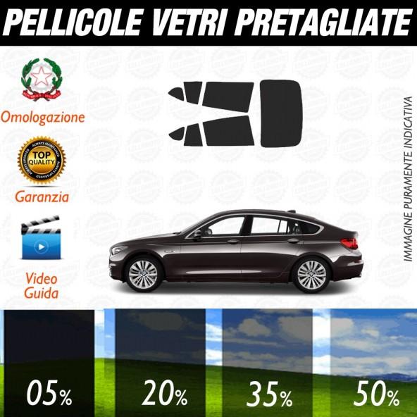 Bmw Serie 5 Touring 05-09 Pellicole Oscuramento Vetri Posteriori Auto Pre Tagliate a Misura
