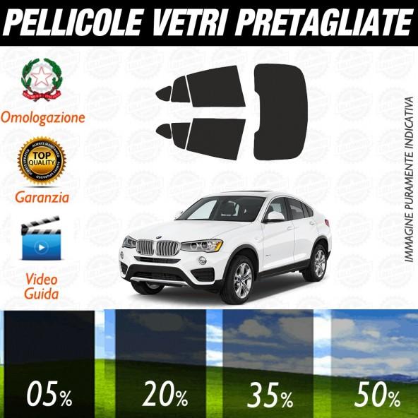 Bmw Serie 1 5p 11-17 Pellicole Oscuramento Vetri Auto Pre Tagliate a Misura