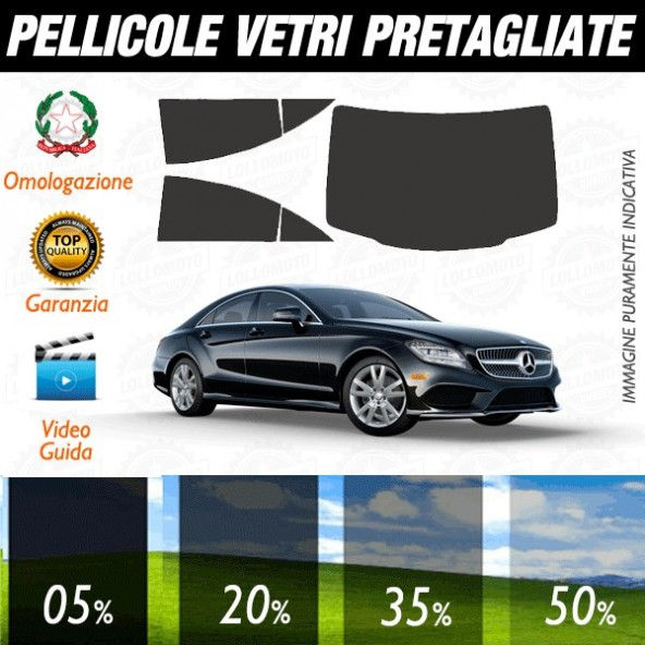 Mercedes Cls Sedan / 63 AMG 06-14 Pellicole Oscuramento Vetri