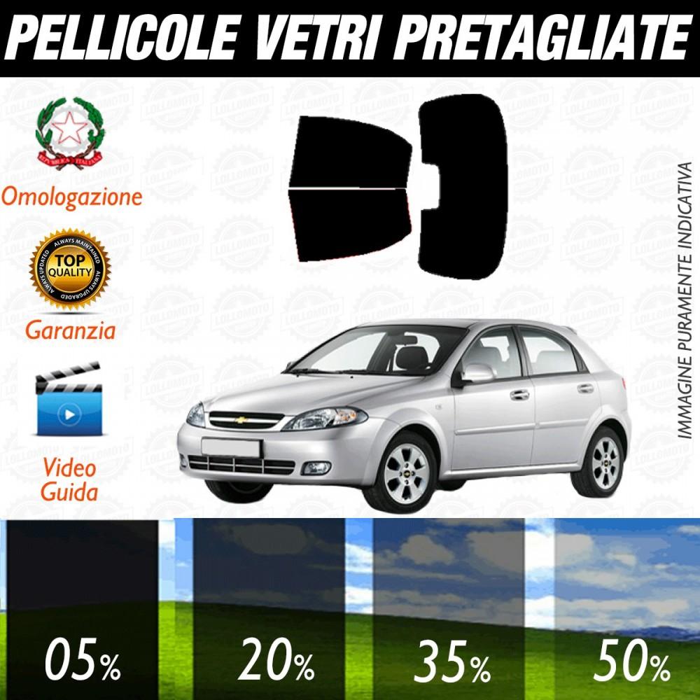 Chevrolet Lacetti dal 2005 ad OGGI Pellicole Oscuramento Vetri Posteriori Auto Pre Tagliate a Misura