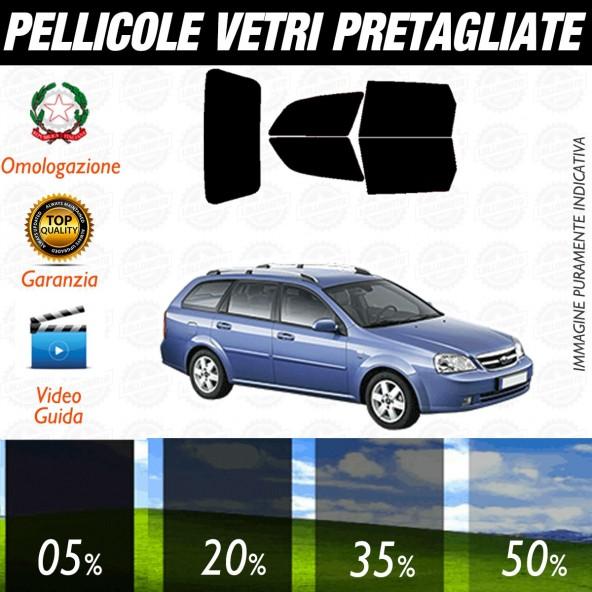 Chevrolet Nubira Sw dal 2008 ad OGGI Pellicole Oscuramento Vetri Posteriori Auto Pre Tagliate a Misura