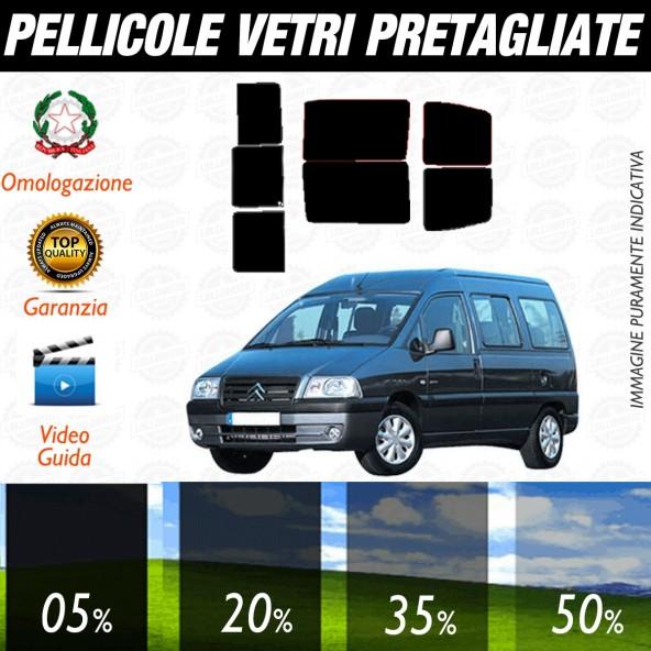 Citroen Jumpy dal 1996 al 2007 Pellicole Oscuramento Vetri Posteriori Auto Pre Tagliate a Misura