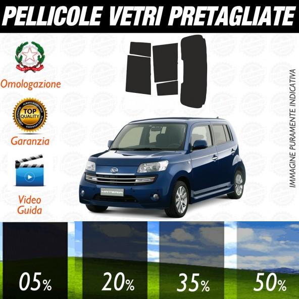 Daihatsu Materia dal 2007 ad OGGI Pellicole Oscuramento Vetri Posteriori Auto Pre Tagliate a Misura