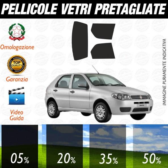 Fiat Palio 5P dal 1996 al 2009 Pellicole Oscuramento Vetri Posteriori Auto Pre Tagliate a Misura Plotter