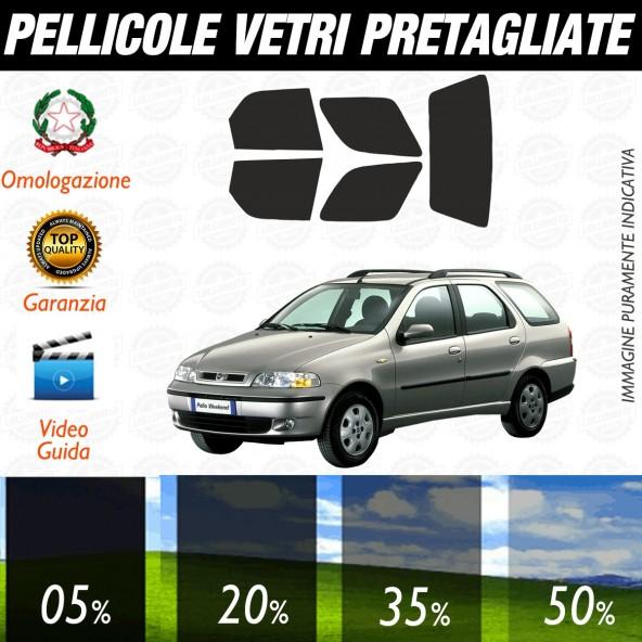 Fiat Palio Sw dal 1997 al 2004 Pellicole Oscuramento Vetri Posteriori Auto Pre Tagliate a Misura Plotter