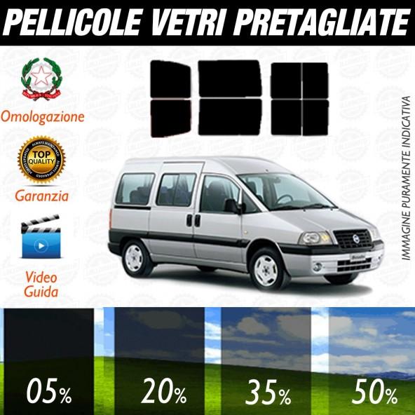 Fiat Scudo dal 1997 al 2006 Pellicole Oscuramento Vetri Posteriori Auto Pre Tagliate a Misura Plotter
