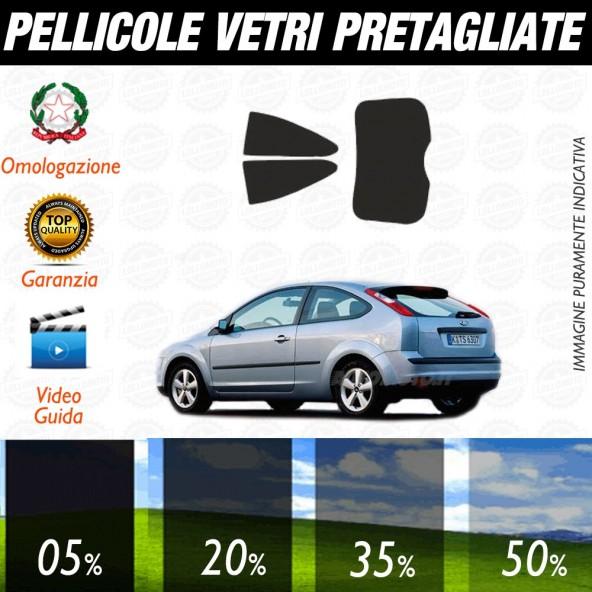 Ford Fiesta 3P 07-17 Pellicole Oscuramento Vetri Auto Pre Tagliate a Misura