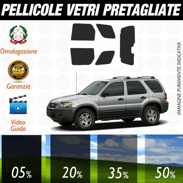 Ford Maverick dal 2002 al 2006 Pellicole Oscuramento Vetri Posteriori Auto Pre Tagliate a Misura