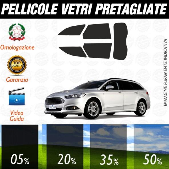 Ford Mondeo Sw 5P dal 2015 ad OGGI Pellicole Oscuramento Vetri Posteriori Auto Pre Tagliate a Misura